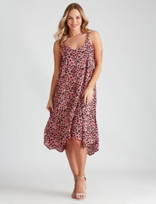 Crossroads Strappy Trapeze Dress