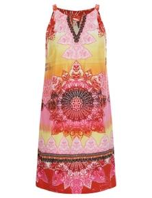 Crossroads SunriPrinted Shift Dress