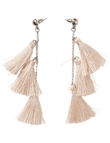 Crossroads 3 Tassel Earrings