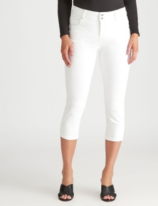 Crossroads Cropped Straight Jean