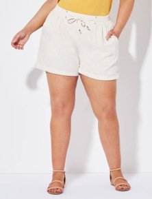 Crossroads Linen Short