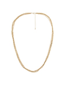 Crossroads Layered Gold Necklace