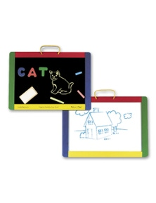 Melissa & Doug - Magnetic Chalk/Dry-Erase Board