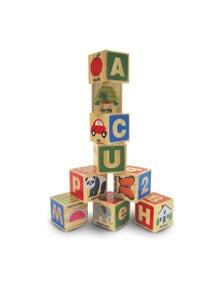Melissa & Doug - ABC-123 Wooden Blocks