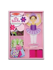 Melissa & Doug - Nina Ballerina Magnetic Dress-Up
