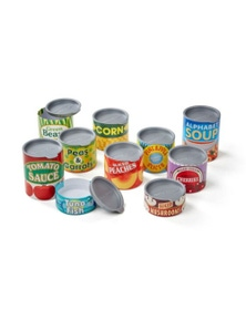 Melissa & Doug - Let's Play House! Grocery Cans