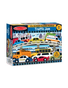 Melissa & Doug - Traffic Jam Floor Puzzle - 24pc