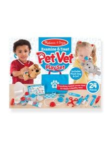 Melissa & Doug - Examine & Treat Pet Vet Play Set