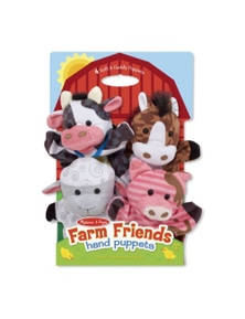 Melissa & Doug - Hand Animal Puppets - Farm
