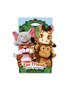 Melissa & Doug - Hand Animal Puppets - Zoo