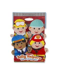 Melissa & Doug - Jolly Helpers Hand Puppets