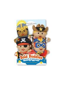 Melissa & Doug - Bold Buddies Hand Puppets