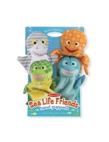 Melissa & Doug - Sea Life Friends Hand Puppets