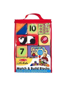 Melissa & Doug - Match & Build Blocks