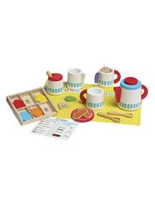 Melissa & Doug - Wooden Steep & Serve Tea Set