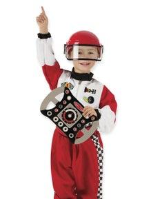 Melissa & Doug - Race Car Driver Costume Set