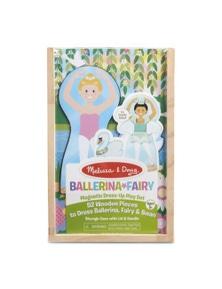 Melissa & Doug - Ballerina Fairy Magnetic Dress Up Play Set