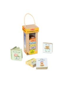 Melissa & Doug - Natural Play Book Tower - Little Nursery Rhymes