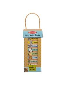 Melissa & Doug - Natural Play Book Tower - Little Animal Books