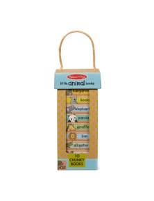 Melissa & Doug - Natural Play Book Tower - Little Animal Books