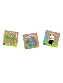Melissa & Doug - Natural Play Wonderful World Books Bundle