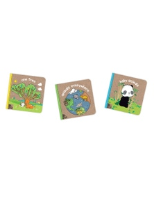 Melissa & Doug - Natural Play Wonderful World Books Bundle