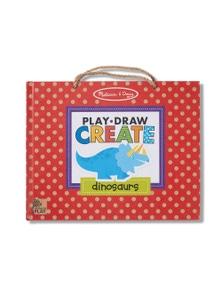Melissa & Doug - Natural Play - Play Draw Create - Dinosaurs