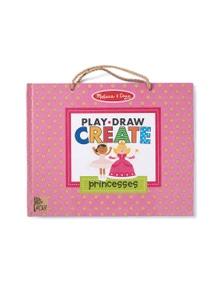 Melissa & Doug - Natural Play - Play Draw Create - Princesses