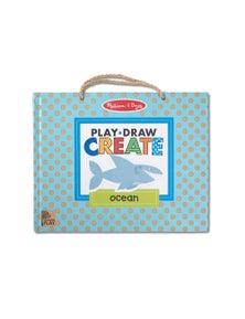 Melissa & Doug - Natural Play - Play Draw Create - Ocean