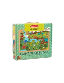 Melissa & Doug - Natural Play Giant Floor Puzzle - Dinosaurs