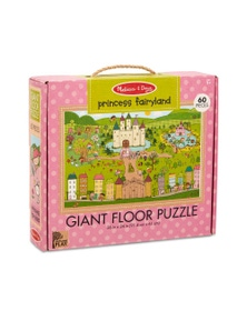 Melissa & Doug - Natural Play Giant Floor Puzzle - Princess Fairyland