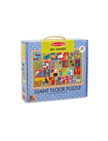 Melissa & Doug - Natural Play Giant Floor Puzzle - ABC Animals
