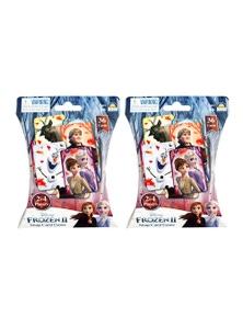Disney Frozen II Snap Card Game 2x 36pc