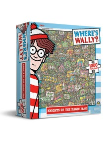Where'S Wally Puzzles - Knights Of The Magic Flag 1000Pc