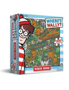 Where'S Wally Puzzles - Robin Hood 1000Pc