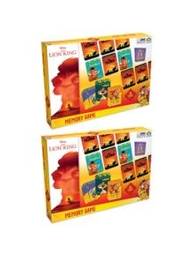 Lion King Memory Game 2-4 Players 2PK