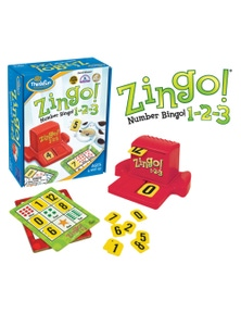 ThinkFun - Zingo! 1-2-3 Game