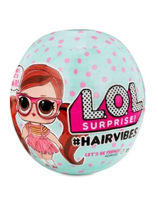 LOL Surprise Hair Vibes MixMatch Hair Dress Up Doll