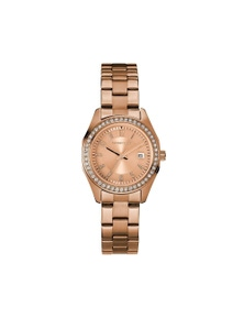 Caravelle by Bulova Women's 44M114 Rose Gold Crystal Watch