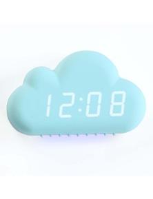 LED Display USB Cloud Shape Alarm Clock