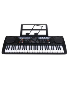 61 Key Electronic Keyboard USB Digital Display Record Playback MQ809USB