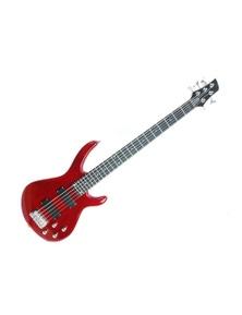 5 String Bass Guitar Aspen Gloss Chrome Machine Head EL120