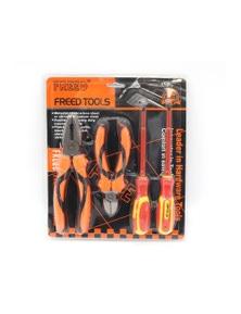 4 Piece Tool Set Pliers Sidecutters Flat Bit Phillips Head Screwdriver S295