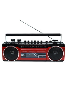 80s Boombox Cassette Speaker