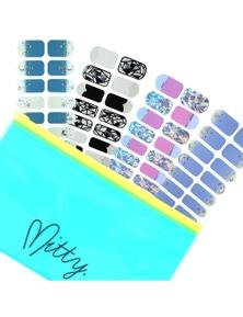 Mitty Jelly Gel Polish Wrap Bundle 3