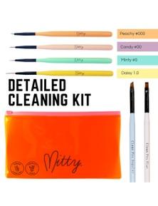 Mitty Nail Art Brush Kit - Cleaning Kit