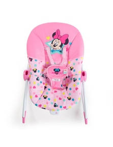 Bright Starts Minnie Mouse Stars and Smiles Infants to Toddler Rocker