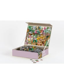 JOURNEY OF SOMETHING 1000 pc Puzzle - Flora +