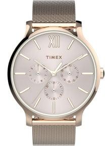 Timex Transcend 38mm Mesh Strap Watch