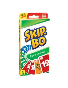 Mattel Games Skip Bo Card Game